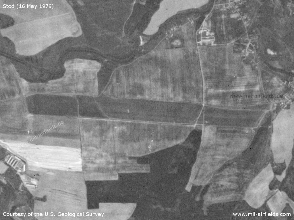 Stod Airfield, Czech Republic, on a US satellite image 1979