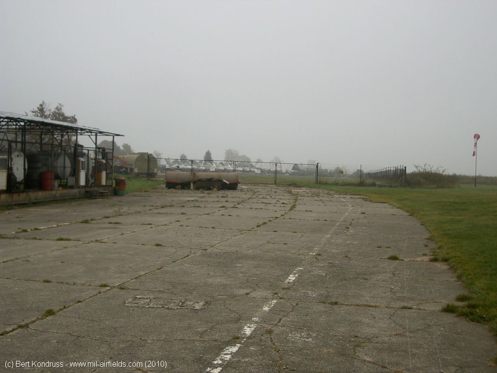Taxiway to the north