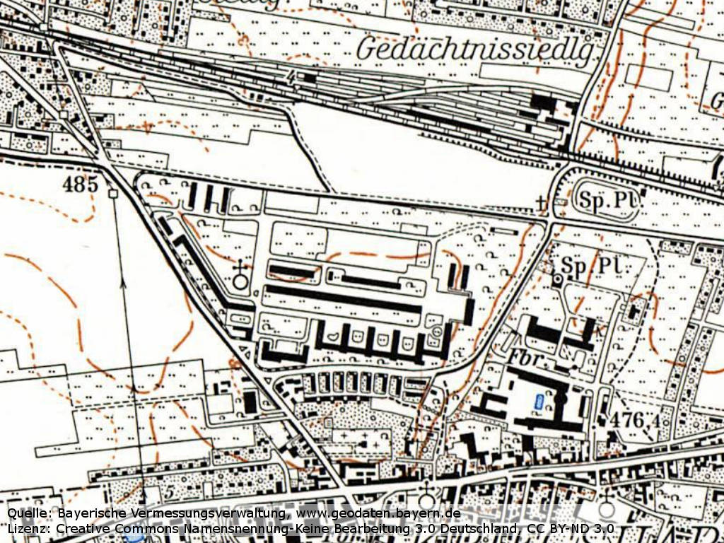 Karte Augsburg.Augsburg Flak Strip Military Airfield Directory