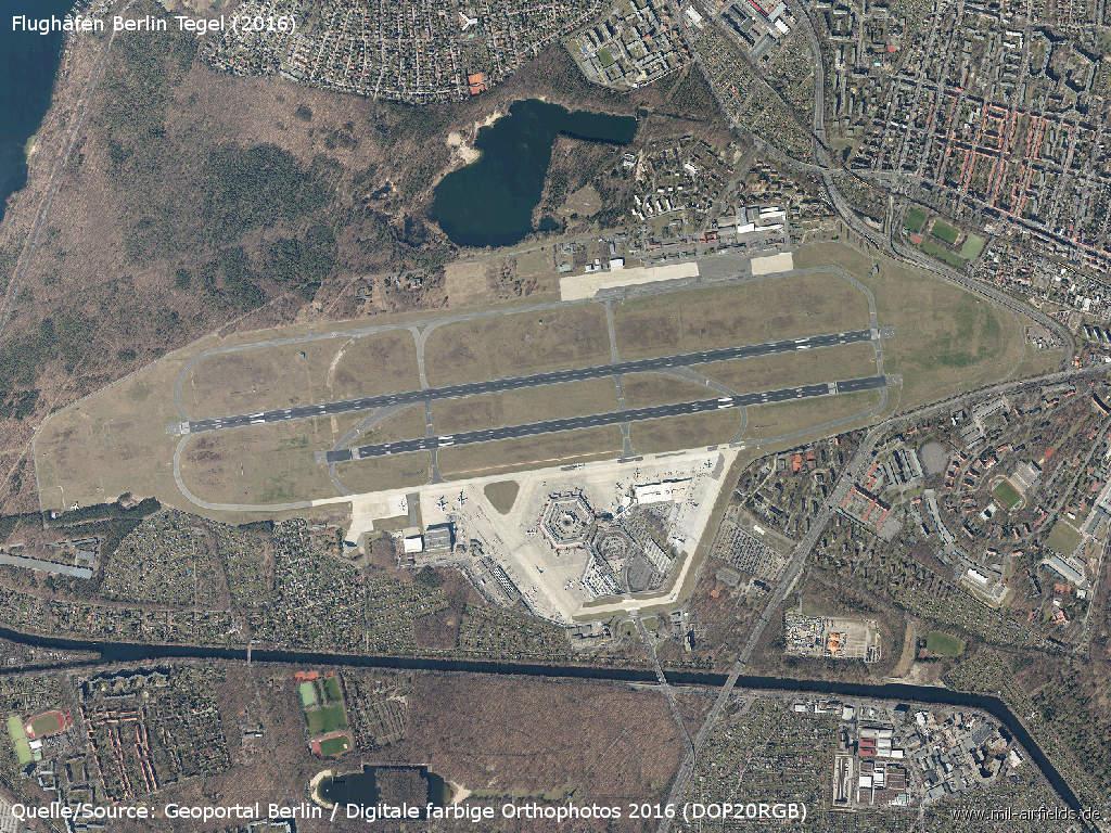 Berlin: Tegel Airport   Military Airfield Directory