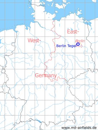 Flughäfen Deutschland Karte.Flughafen Berlin Tegel Military Airfield Directory