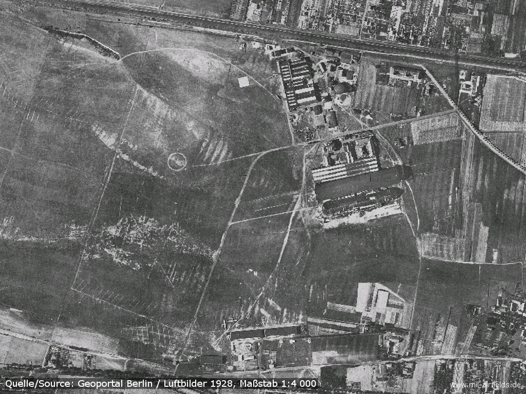 Staaken aerial picture 1928