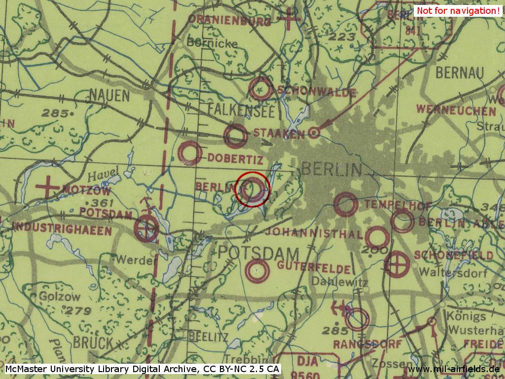 Berlin Flugplatz Gatow Military Airfield Directory