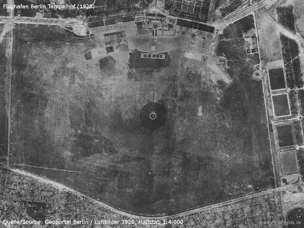 Aerial picture from 1928