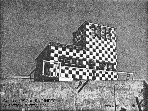 Completed control tower, OAF specifications at Berlin Tempelhof airfield