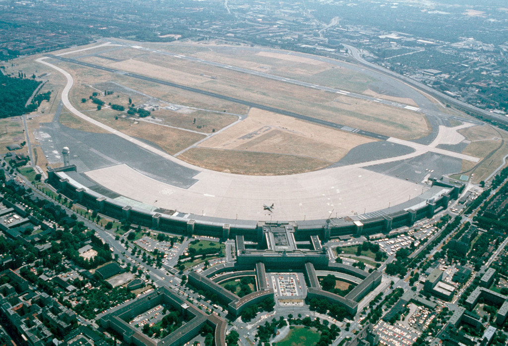 Aerial picture of Berlin Tempelhof Central Airport