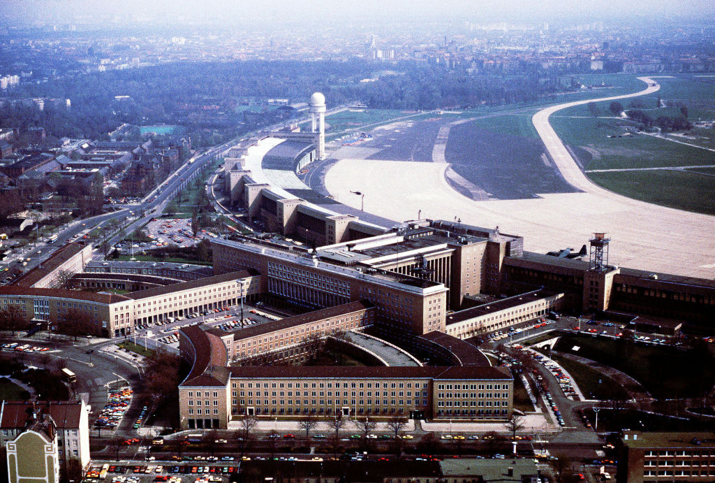 Main building of Tempelhof Central Airport
