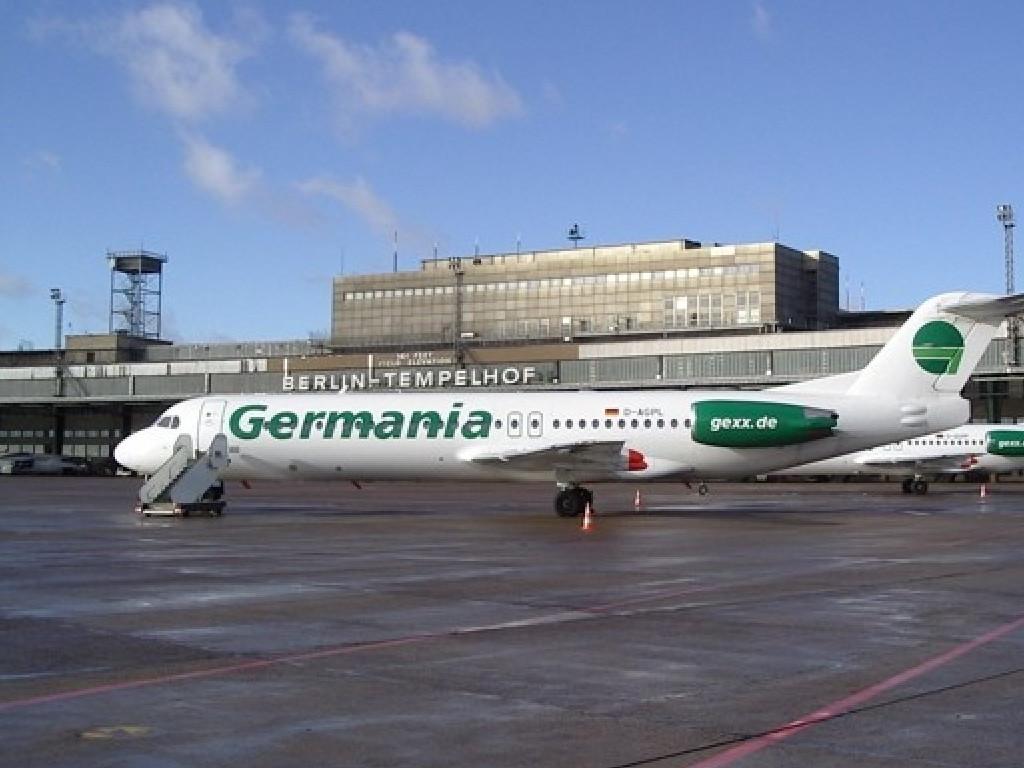 Enkelt tas Berlin Tempelhof