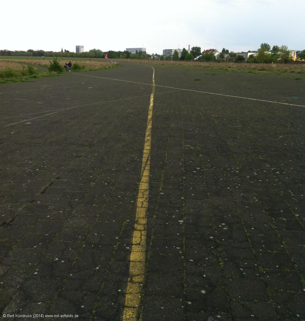 Old take-off platforms in the south