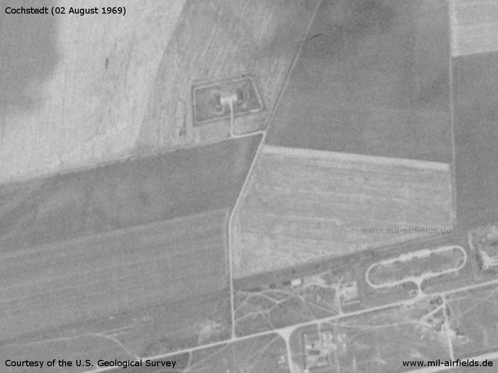 Storage object north of Cochstedt airfield, Germany