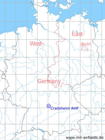 Crailsheim McKee Barracks Army Heliport AHP Military Airfield
