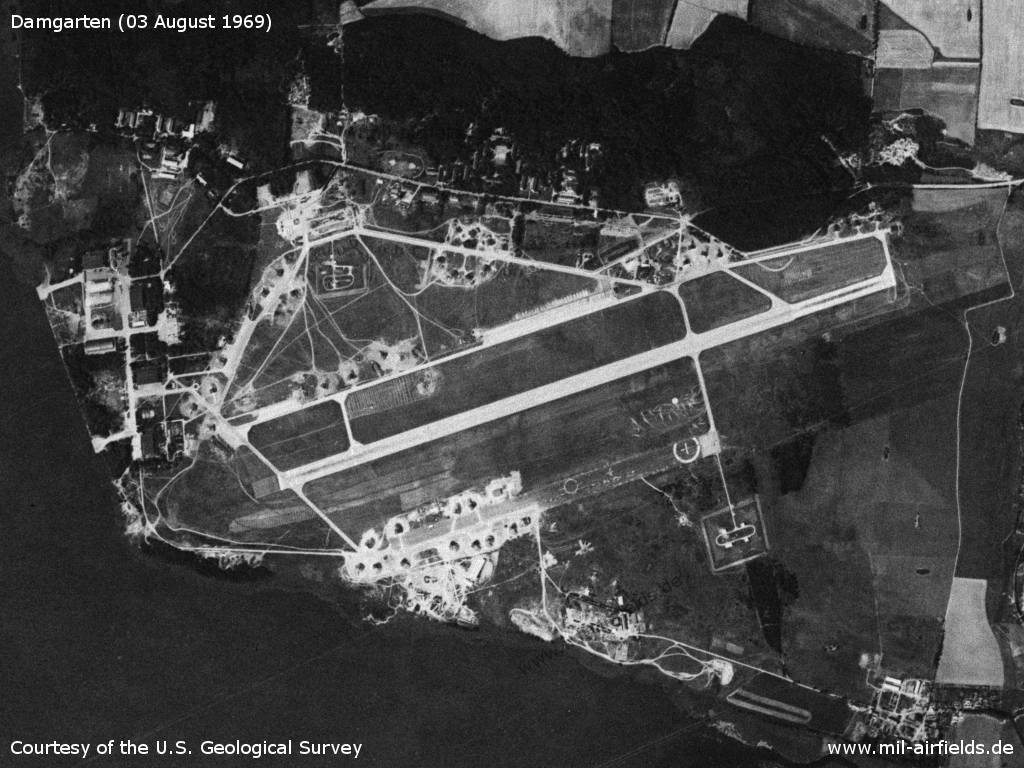 Damgarten Air Base, Germany, 1969