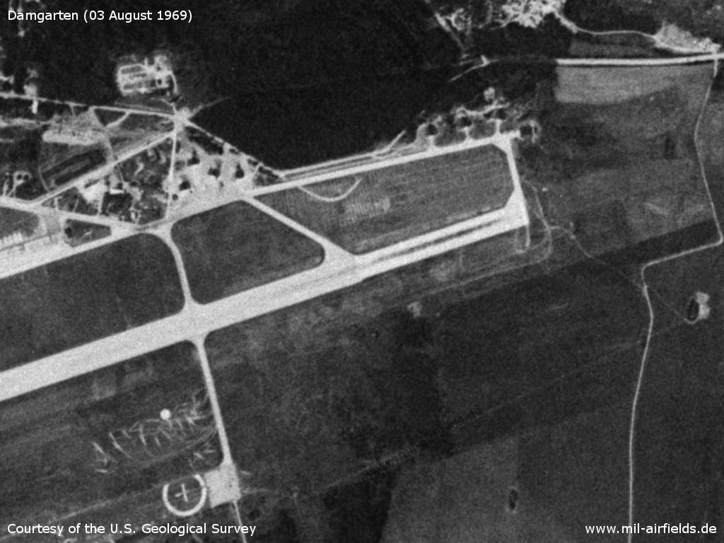 Damgarten airfield: Runway extension