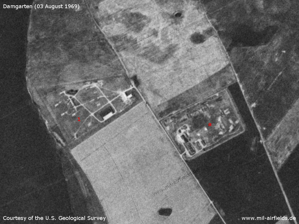Soviet SA-3 Goa SAM site near Saal, Germany