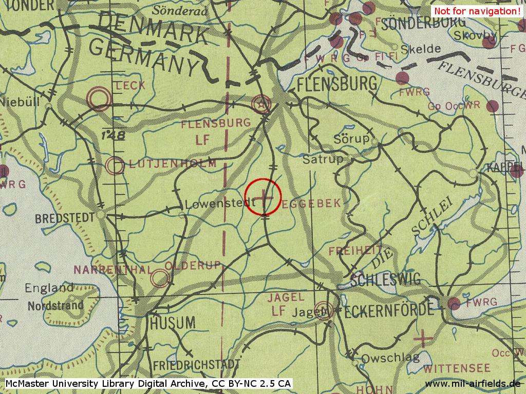 Map Of Germany During World War 2.Eggebek Air Base Germany Military Airfield Directory