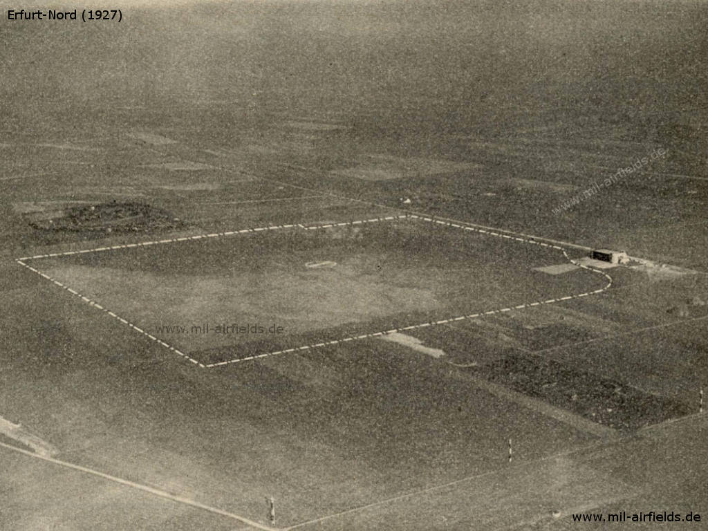 Aerial view, about 1927