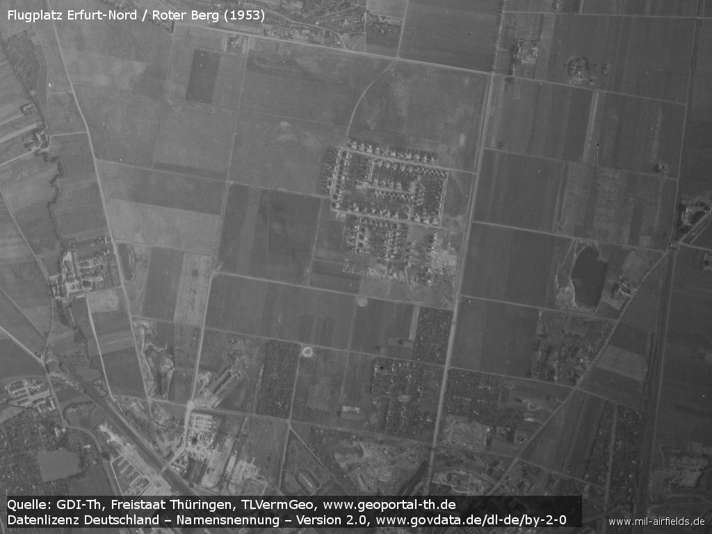Aerial picture 1953
