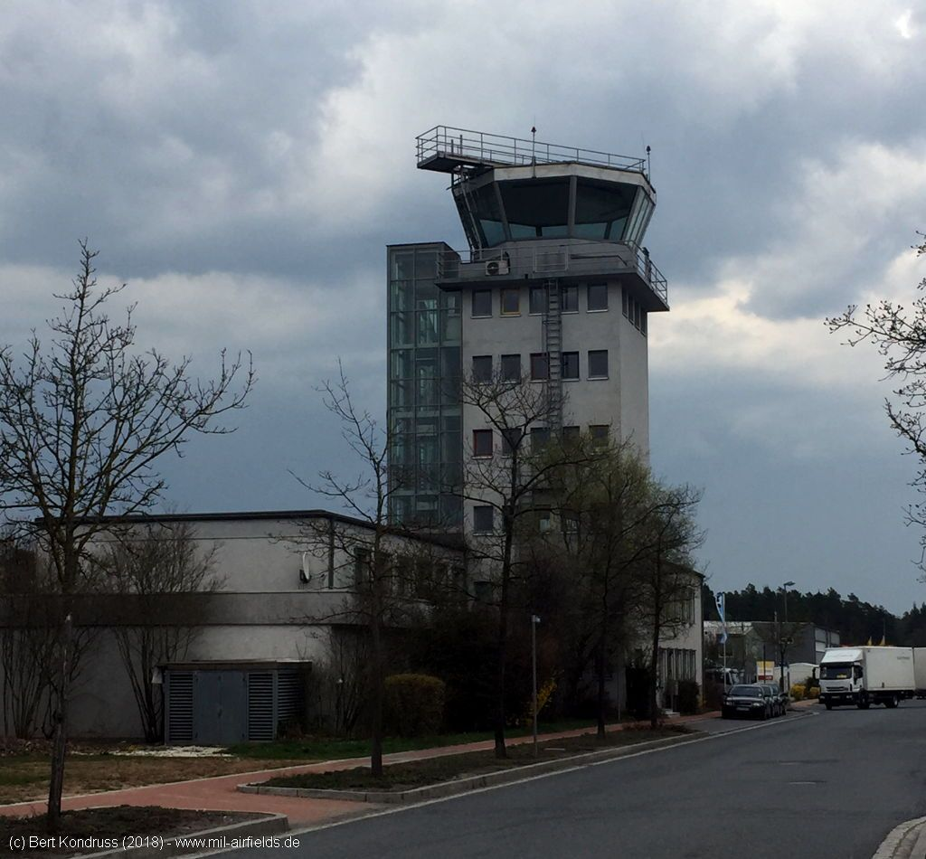 Control tower, Feucht Army Airfield, Germany