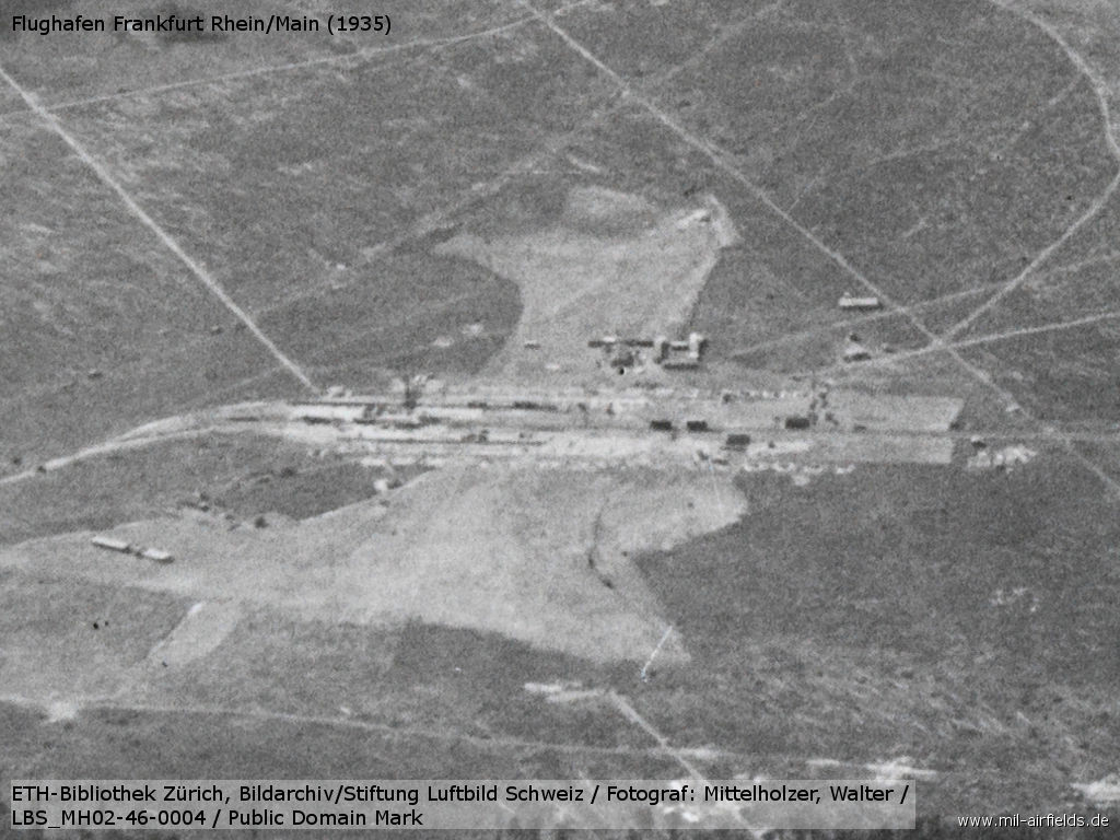 Aerial picture: Airship hangar construction site