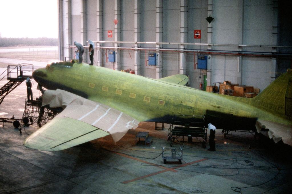 C-47 restauration