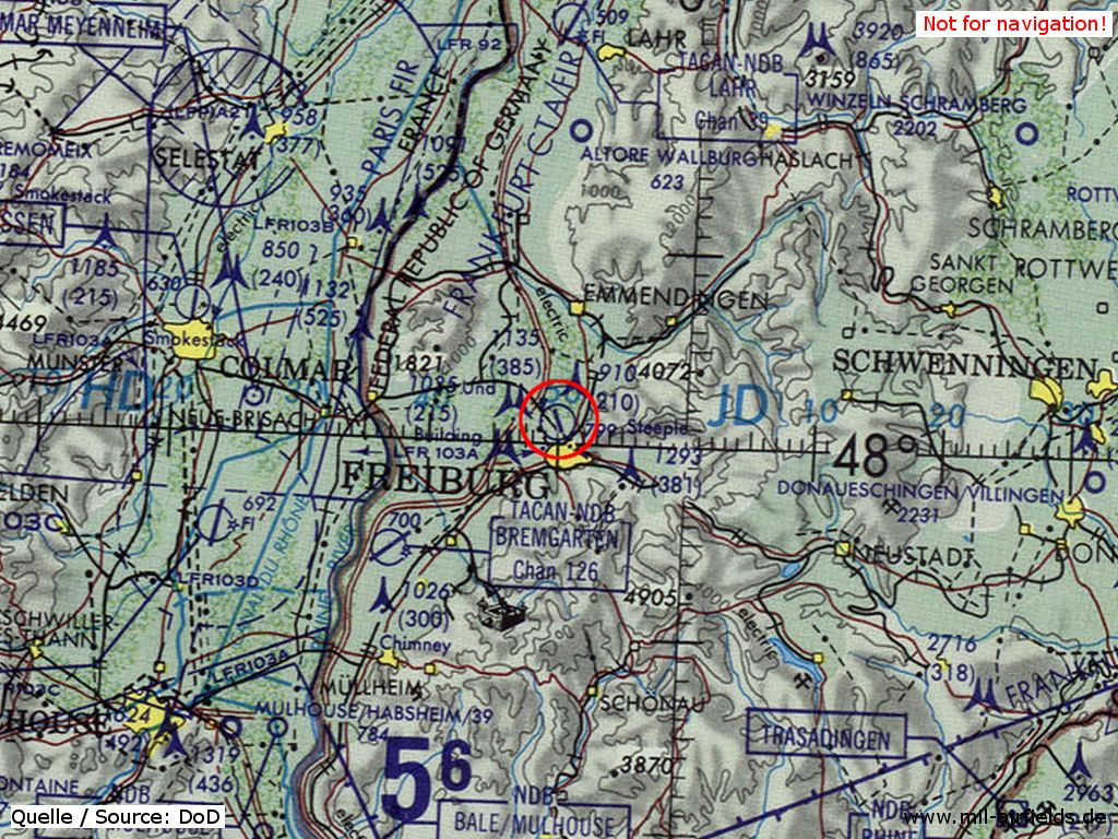 Freiburg Airfield Military Airfield Directory