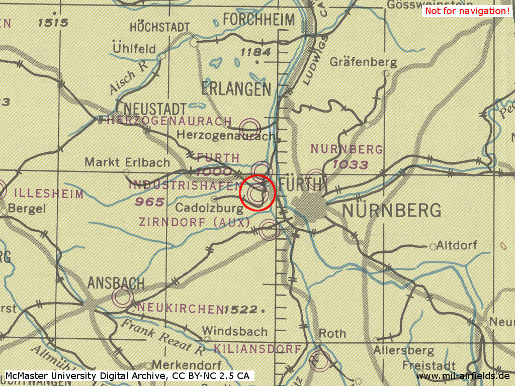 NurembergFrth Industrieflughafen Airport Military Airfield Directory