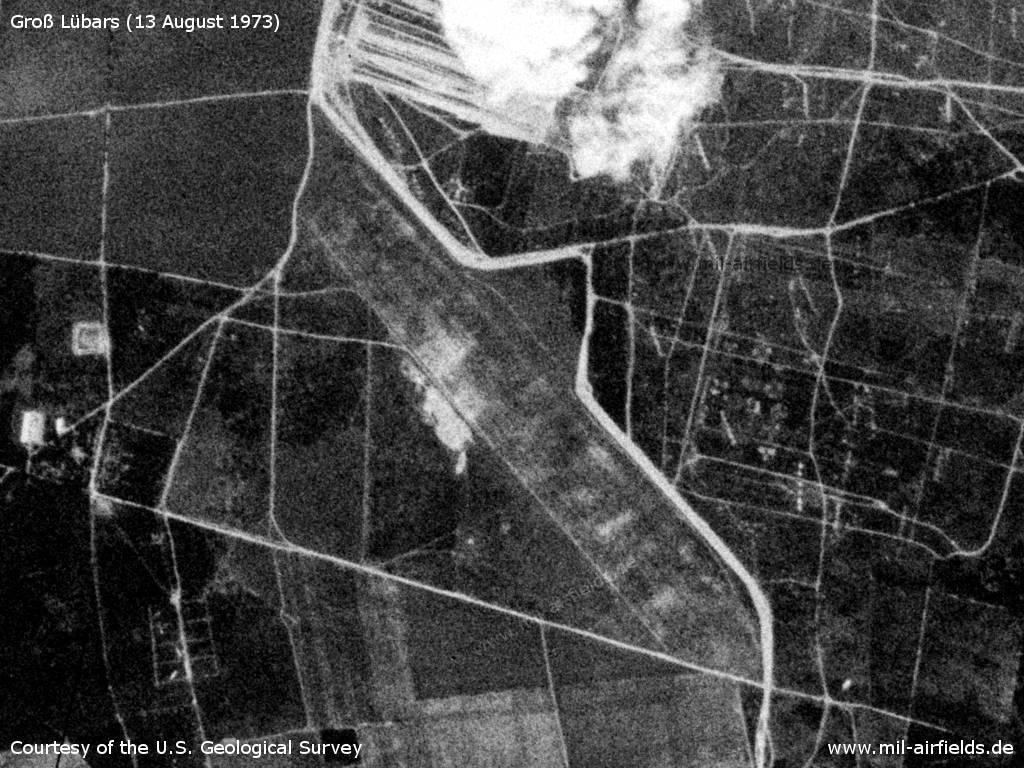 Sowjetischer Flugplatz Groß Lübars, 1973