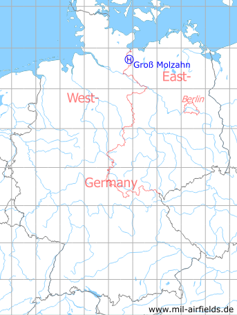 Groß Molzahn groß molzahn nva hubschrauberlandeplatz 3370 airfield