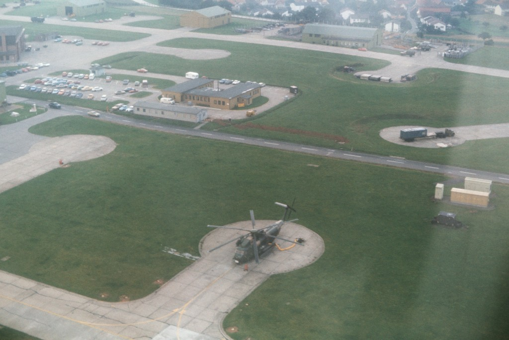 Hahn airfield aerial picture