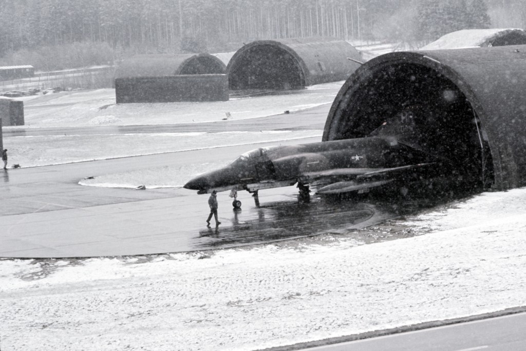 F-4 Phantom at Hahn airfield