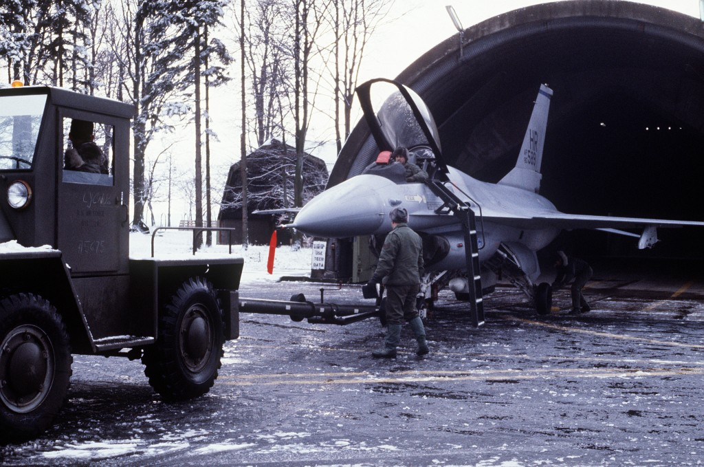F-16 Falcon of the 50th Tactical Fighter Wing Hahn