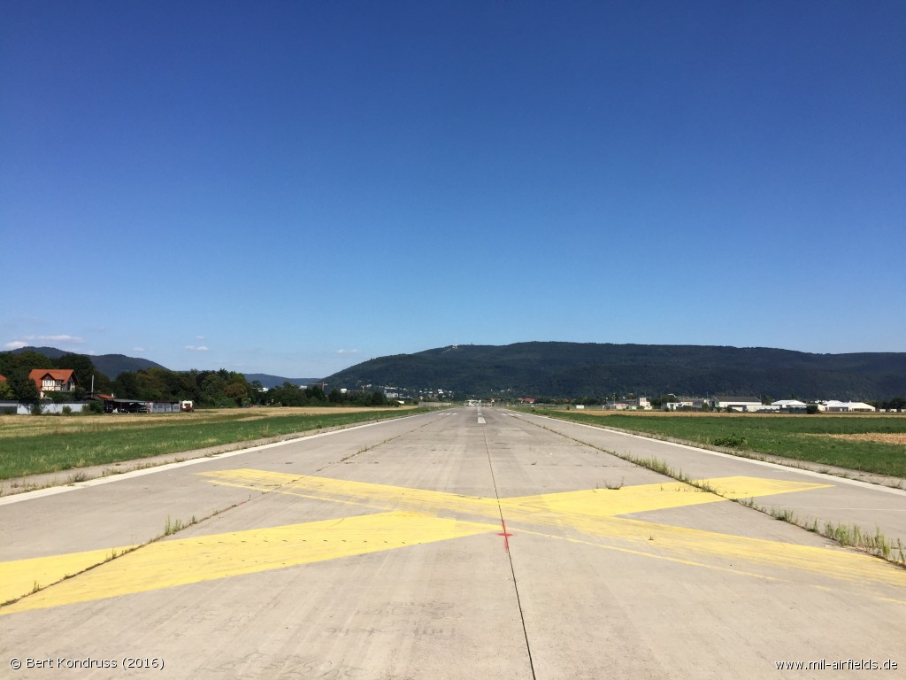 Runway of Heidelberg Army Airfield