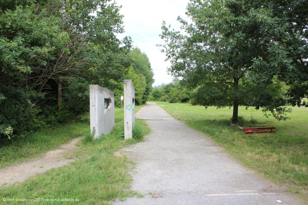 Southern entrance to the Waldheide in Heilbronn Germany