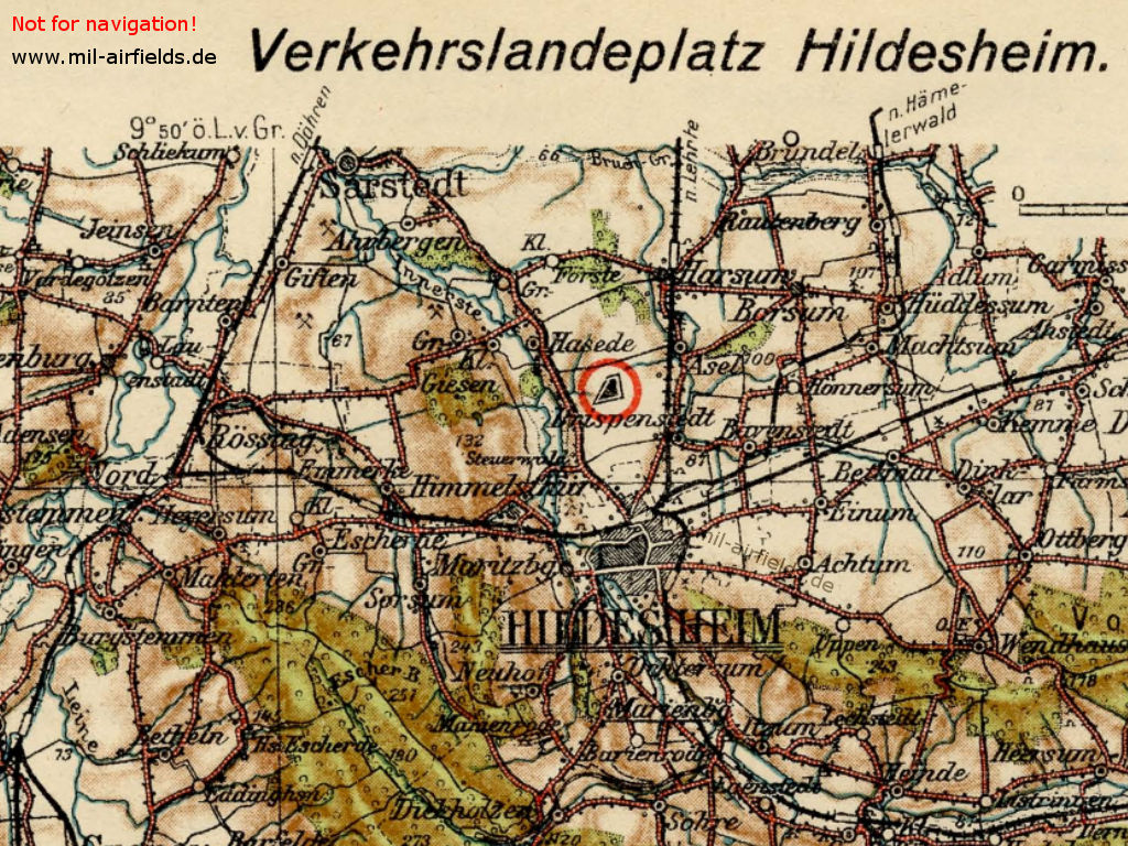 Map from the 1920s