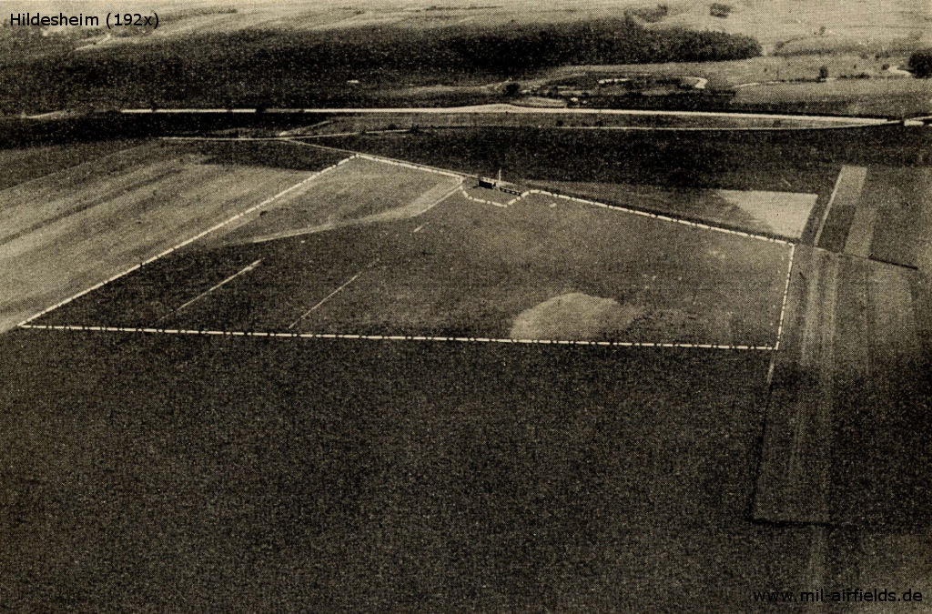 Aerial picture from the 1920s