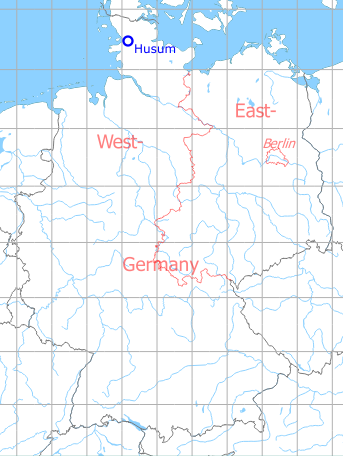 Husum Karte.Fliegerhorst Husum Military Airfield Directory
