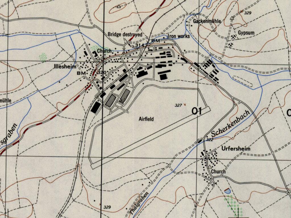 Illesheim  Army Air Field Aaf