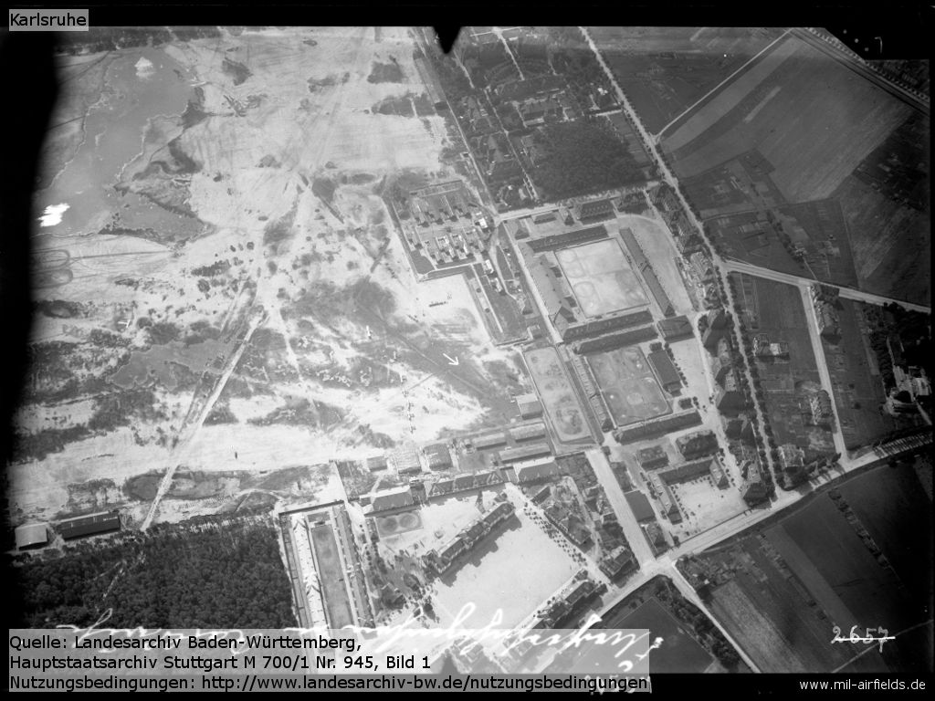 Aerial photograph First World War