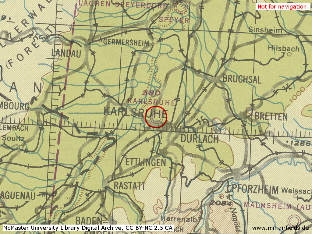 Karlsruhe Map Of Germany.Karlsruhe Army Airfield Germany Military Airfield Directory