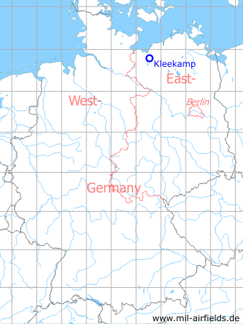Map with location of Kleekamp Highway Strip