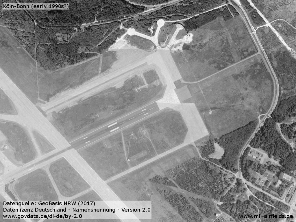 Aerial picture runway 25