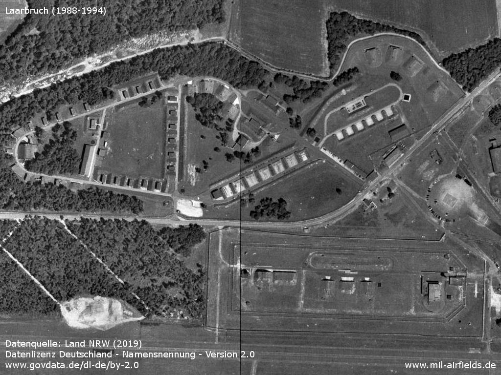 Laarbruch, Germany: Ammunition dump and special weapons storage