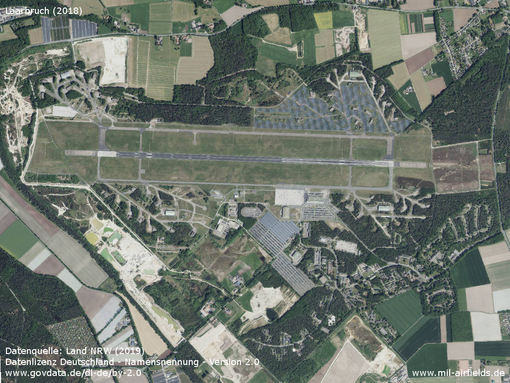 Weeze Airport, Germany, Aerial image 2018