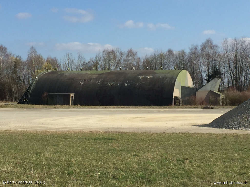 Hardened Aircraft Shelter HAS in Leipheim