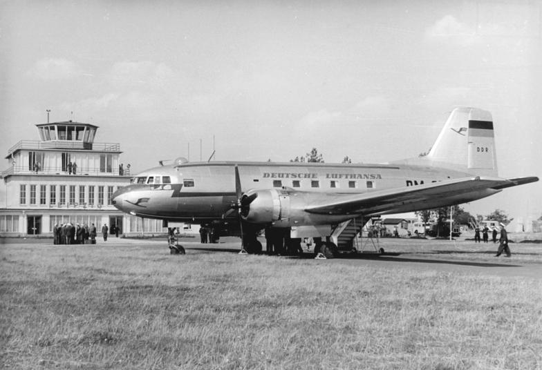 Il-14 of East German Deutsche Lufthansa der DDR in Mockau