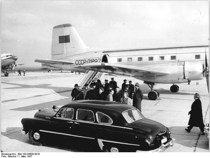 Aeroflot Il-14 in Leipzig