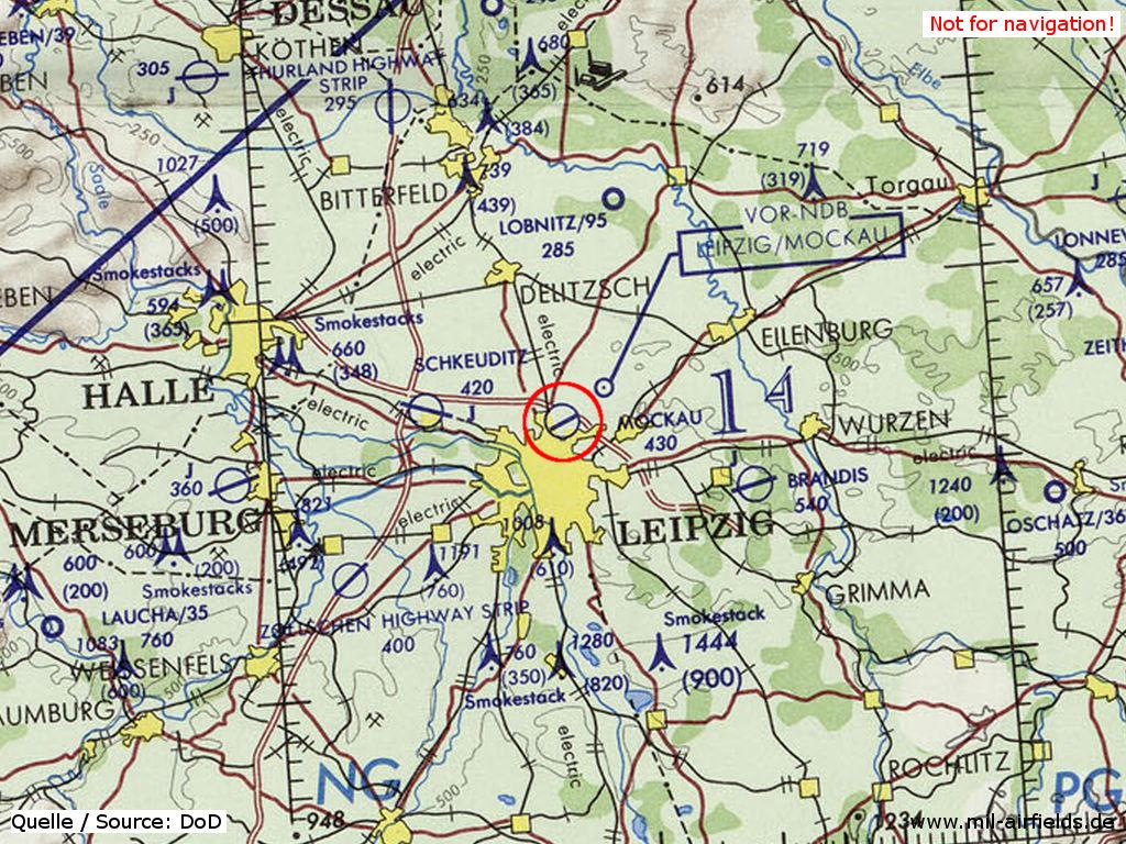 LeipzigMockau Airport Military Airfield Directory - Map of leipzig