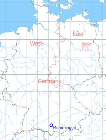 Map Of Germany Memmingen.Memmingen Air Base Airport Germany Military Airfield Directory