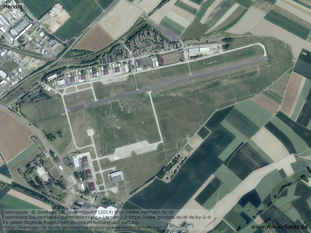 Luftbild Flugplatz Mendig