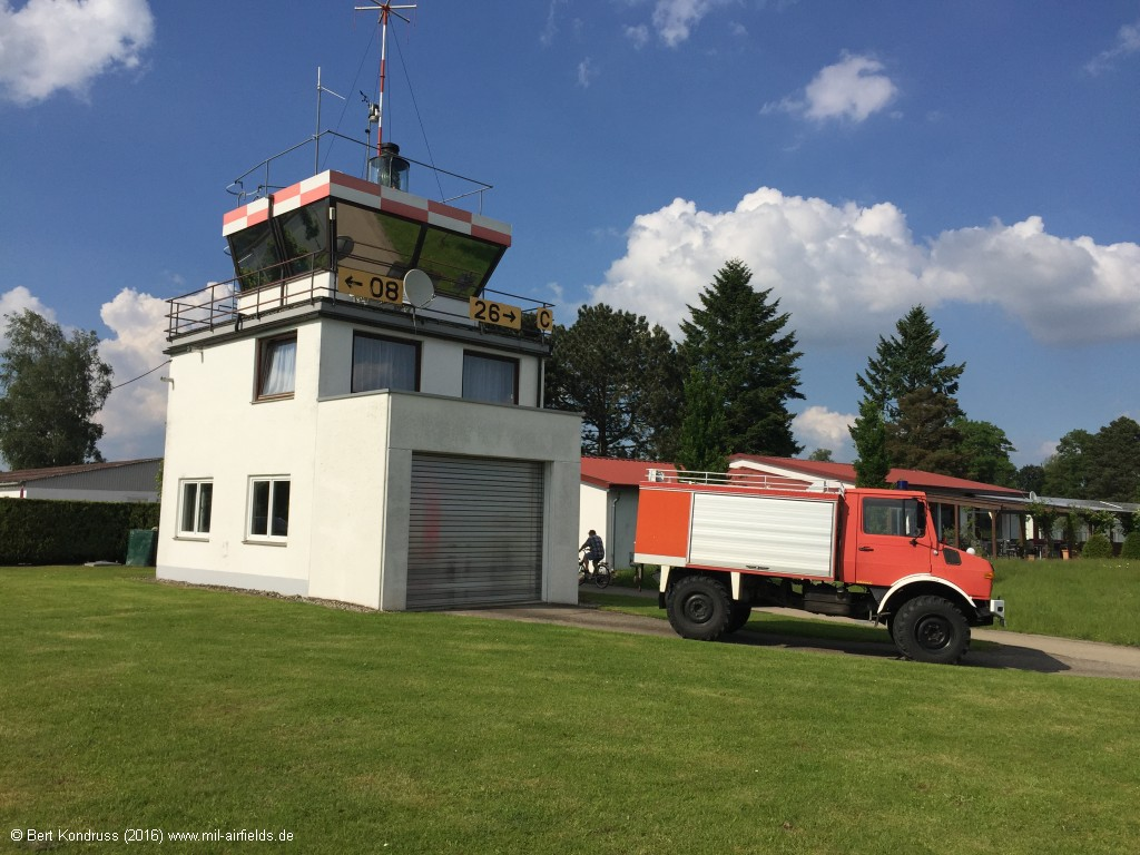New control tower at Mengen airfield